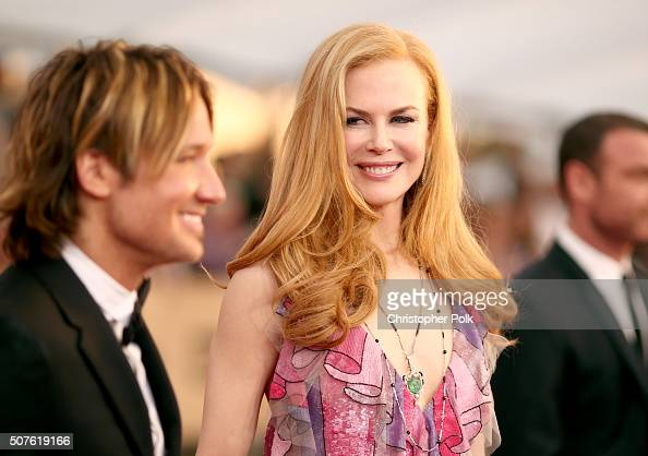 Recording artist Keith Urban and actress Nicole Kidman attend The 22nd Annual Screen Actors Guild Awards at The Shrine Auditorium on January 30 2016...