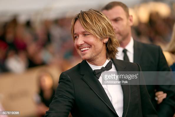 Recording artist Keith Urban attends The 22nd Annual Screen Actors Guild Awards at The Shrine Auditorium on January 30 2016 in Los Angeles California...