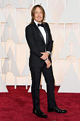 Recording artist Keith Urban attends the 87th Annual Academy Awards at Hollywood Highland Center on February 22 2015 in Hollywood California