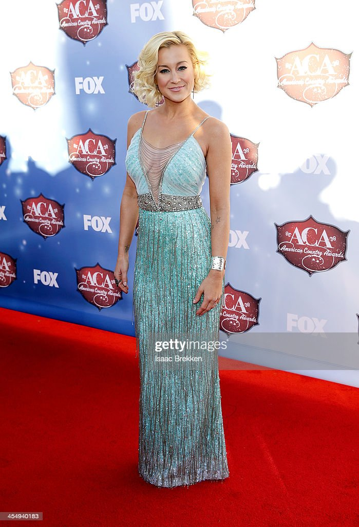 Recording artist Kellie Pickler arrives at the American Country Awards 2013 at the Mandalay Bay Events Center on December 10 2013 in Las Vegas Nevada