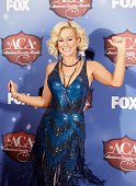 Recording artist Kellie Pickler poses in the press room during the American Country Awards 2013 at the Mandalay Bay Events Center on December 10 2013...