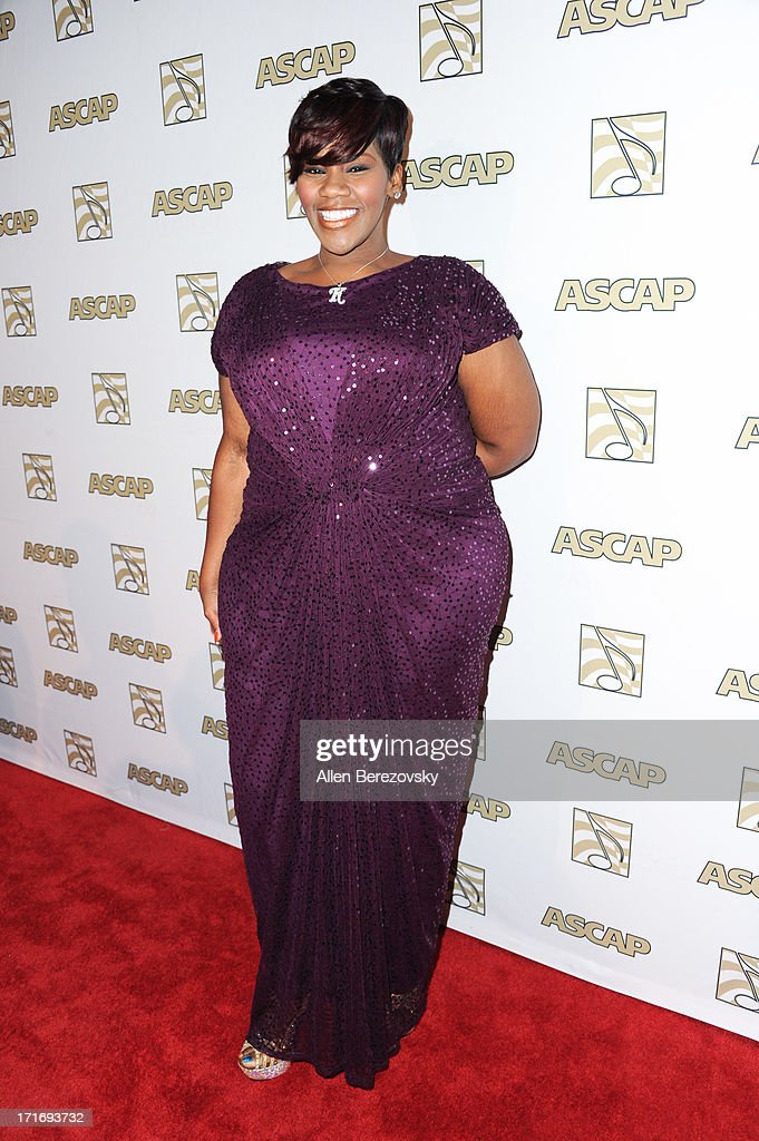 Recording artist Kelly Price arrives at ASCAP's 26th Annual Rhythm & Soul Music Awards at The Beverly Hilton Hotel on June 27, 2013 in Beverly Hills, California.