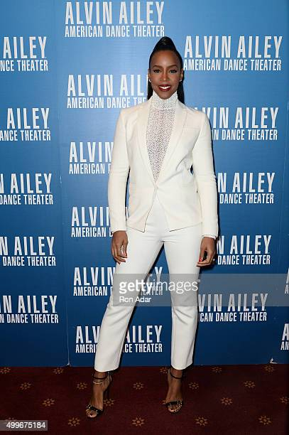 Recording Artist Kelly Rowland attends the 2015 Alvin Ailey Opening Night Benefit Gala at New York City Center on December 2 2015 in New York City