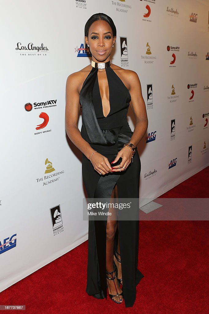 Recording artist Kelly Rowland attends the GRAMMY Museum Gala - Architects Of Sound: Motown at The GRAMMY Museum on November 11, 2013 in Los Angeles, California.