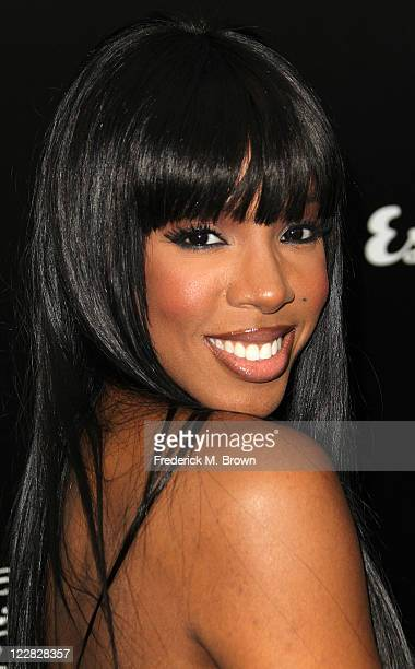 Recording artist Kelly Rowland attends the House of Hype's 2011 MTV Video Music Awards After Party at the SLS Hotel on August 28 2011 in Los Angeles...