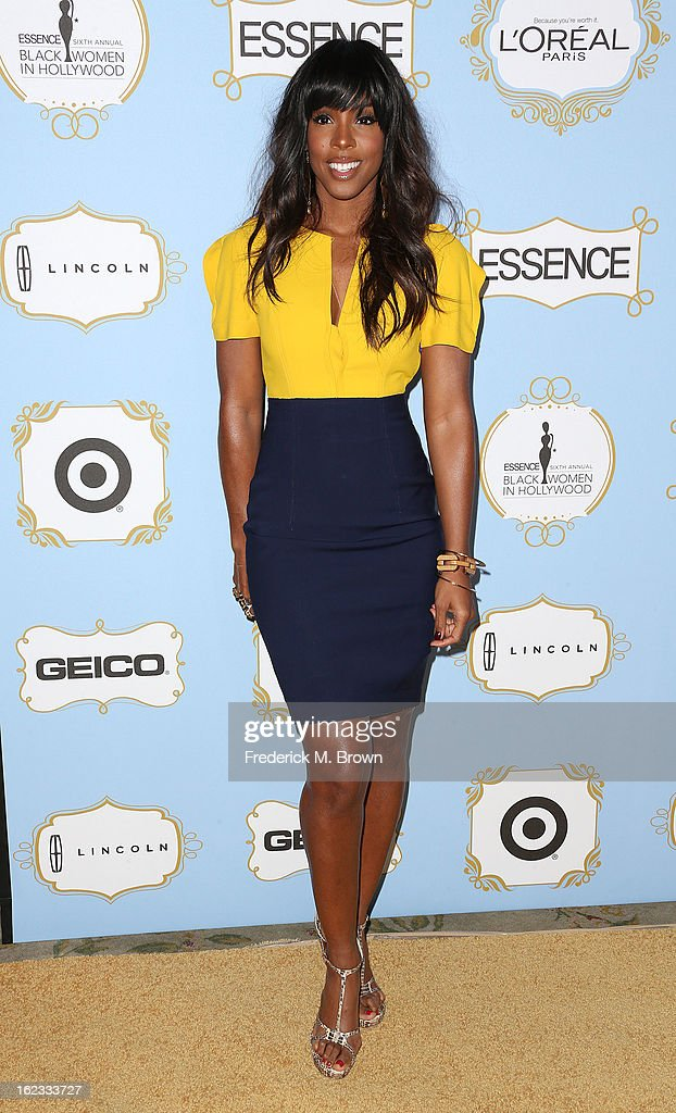 Recording artist Kelly Rowland attends the Sixth Annual ESSENCE Black Women In Hollywood Awards Luncheon at the Beverly Hills Hotel on February 21, 2013 in Beverly Hills, California.