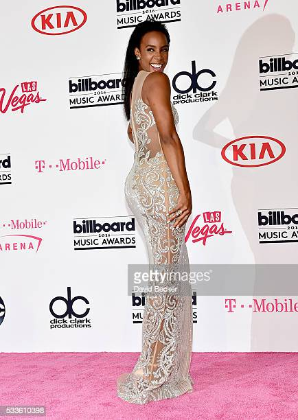 Recording artist Kelly Rowland poses in the press room during the 2016 Billboard Music Awards at TMobile Arena on May 22 2016 in Las Vegas Nevada