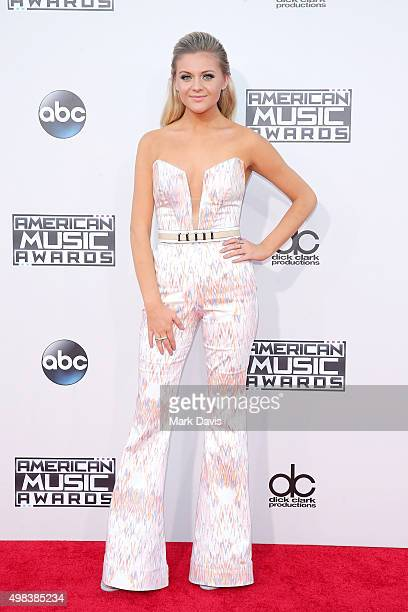 Recording artist Kelsea Ballerini attends the 2015 American Music Awards at Microsoft Theater on November 22 2015 in Los Angeles California
