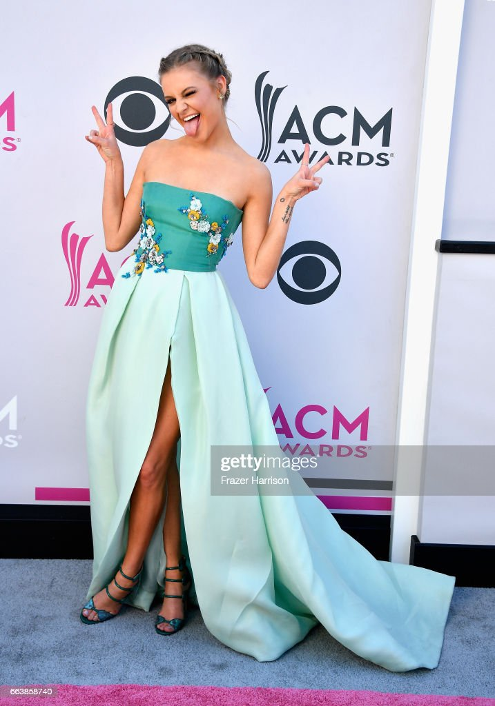 Recording artist Kelsea Ballerini attends the 52nd Academy Of Country Music Awards at Toshiba Plaza on April 2, 2017 in Las Vegas, Nevada.