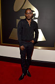 Recording artist Kendrick Lamar attends The 58th GRAMMY Awards at Staples Center on February 15 2016 in Los Angeles California