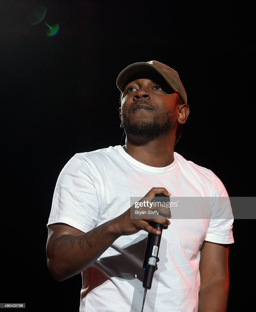 Recording artist Kendrick Lamar performs during the 2015 Life is Beautiful festival on September 27, 2015 in Las Vegas, Nevada.