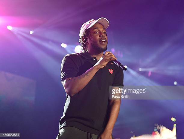 Recording artist Kendrick Lamar performs onstage at the 2015 Essence Music Festival on July 5 2015 at MercedesBenz Superdome in New Orleans Louisiana