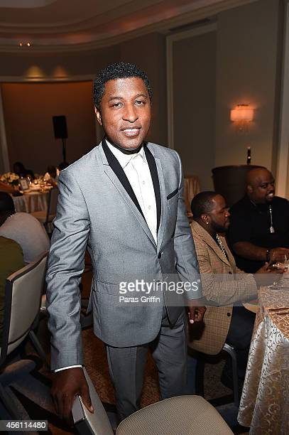 Recording artist Kenneth 'Babyface' Edmonds attends the ASCAP Rhythm And Soul 3rd Annual Atlanta Legends Dinner Honoring Antonio 'LA' Reid at...