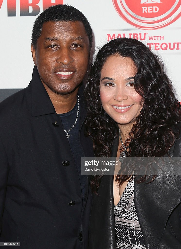 Recording artist Kenneth Edmonds aka Babyface (L) and Nicole 'Nikki' Pantenburg attend VIBE's 20th Anniversary Celebration and Inaugural Impact Awards at the Sunset Tower Hotel on February 8, 2013 in West Hollywood, California.