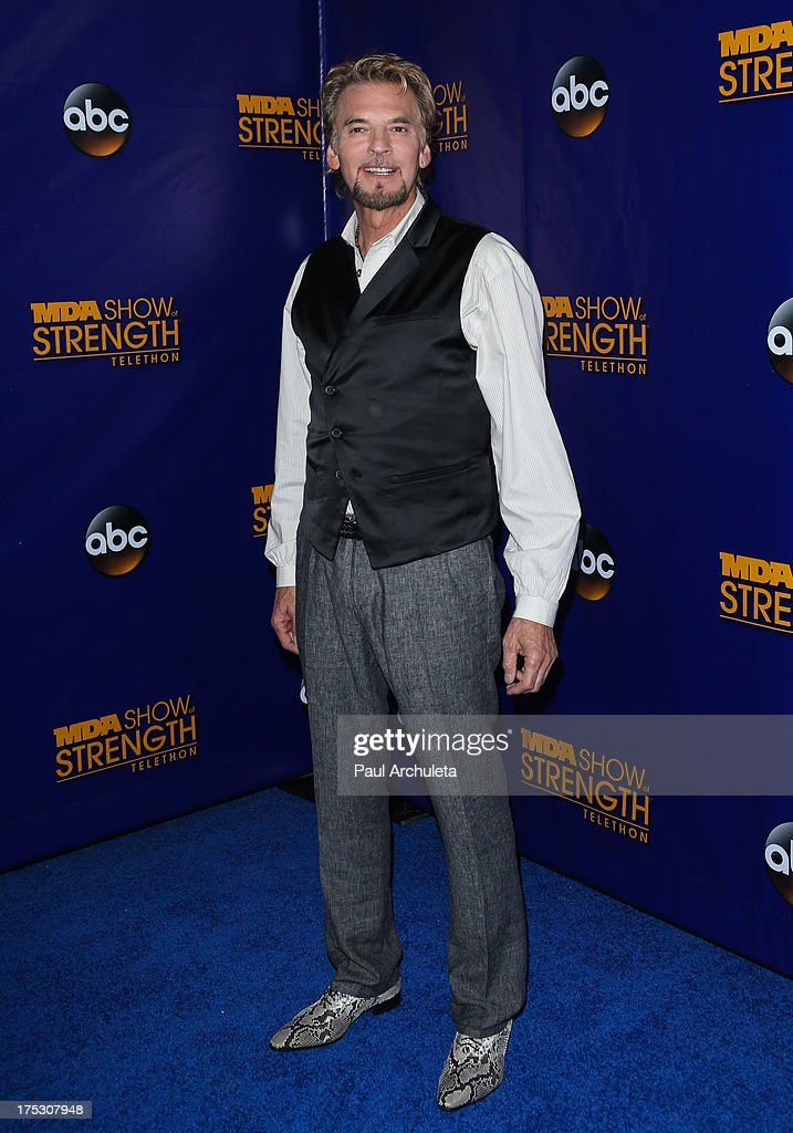 Recording Artist Kenny Loggins attends the Muscular Dystrophy Association's 48th annual MDA Show Of Strength telethon day 2 at CBS Studios on August 1, 2013 in Los Angeles, California.