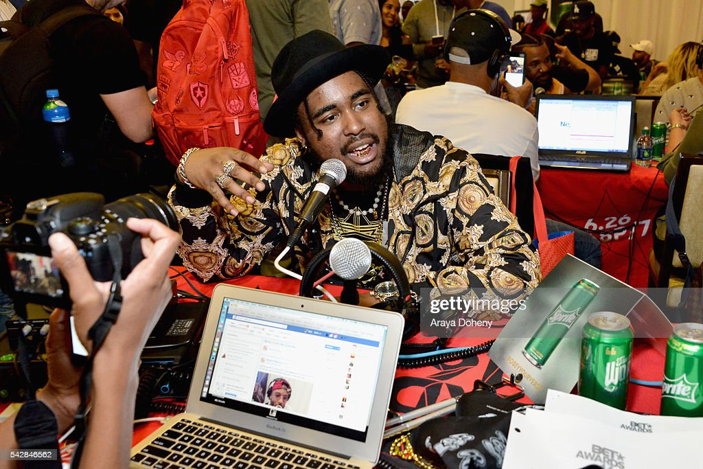 Recording artist Kent Jones attends the radio broadcast center during the 2016 BET Experience at the JW Marriott Los Angeles L.A. Live on June 24, 2016 in Los Angeles, California.
