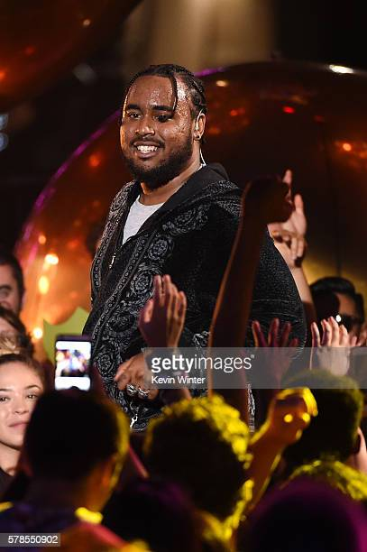 Recording Artist Kent Jones performs on stage at the MTV Fandom Awards San Diego at PETCO Park on July 21 2016 in San Diego California