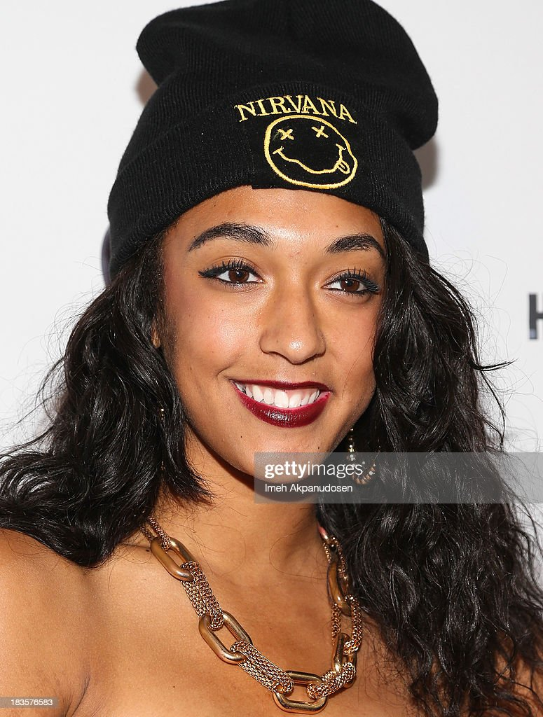 Recording artist Keonna Evans attends the closing night for the Hollywood Black Film Festival (HBFF) at The Ricardo Montalban Theatre on October 6, 2013 in Hollywood, California.