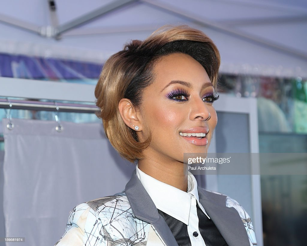Recording Artist <a gi-track='captionPersonalityLinkClicked' href=/galleries/search?phrase=Keri+Hilson&family=editorial&specificpeople=4340776 ng-click='$event.stopPropagation()'>Keri Hilson</a> hosts a 'Kiss & Tell' experiment at the Santa Monica Pier on January 16, 2013 in Santa Monica, California.