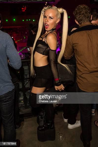 Recording artist Kerli attends Krewella's 'Get Wet' album release foam party at Exchange LA on September 24 2013 in Los Angeles California