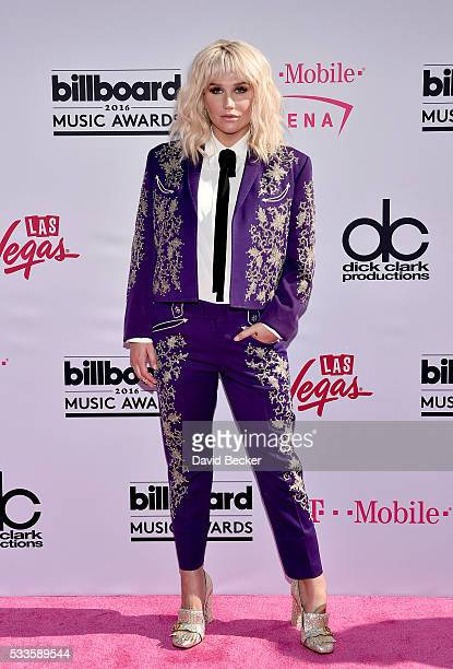Recording artist Kesha attends the 2016 Billboard Music Awards at TMobile Arena on May 22 2016 in Las Vegas Nevada