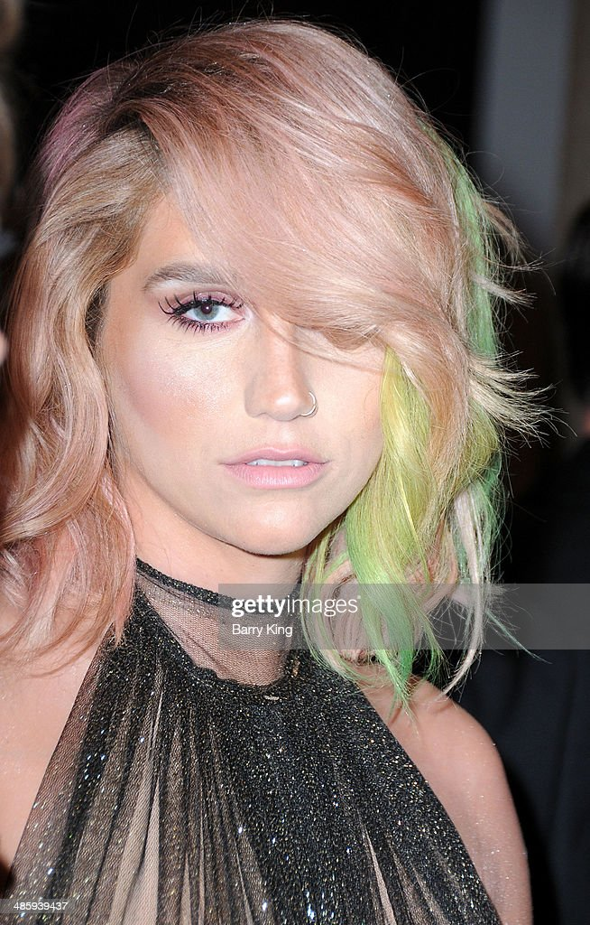 Recording Artist Kesha attends the Humane Society Of The United States 60th Anniversary Benefit Gala on March 29, 2014 at The Beverly Hilton Hotel in Beverly Hills, California.