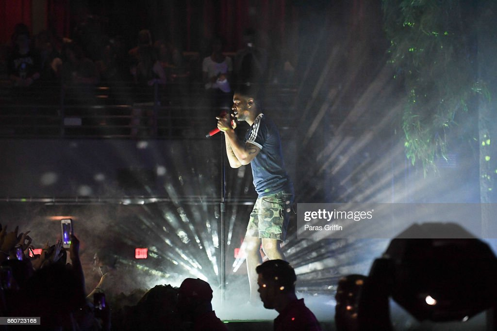 Recording Artist Kid Cudi Perform In Concert During Passion Pain Demon Slayin