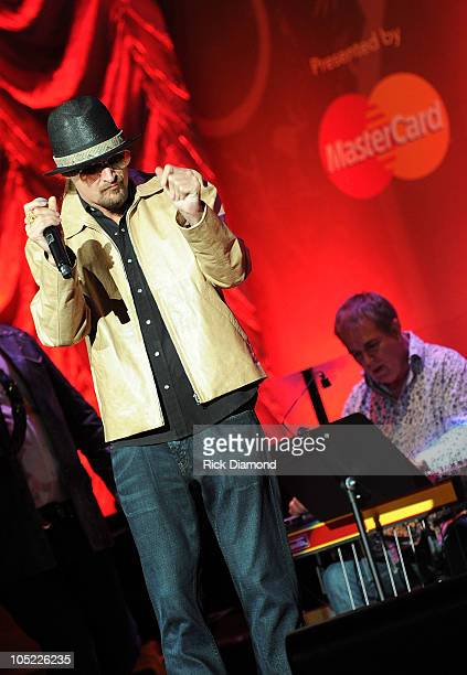 Recording Artist Kid Rock performs during the GRAMMY Salute to Country Music Honoring Loretta Lynn presented by Mastercard and hosted by The...