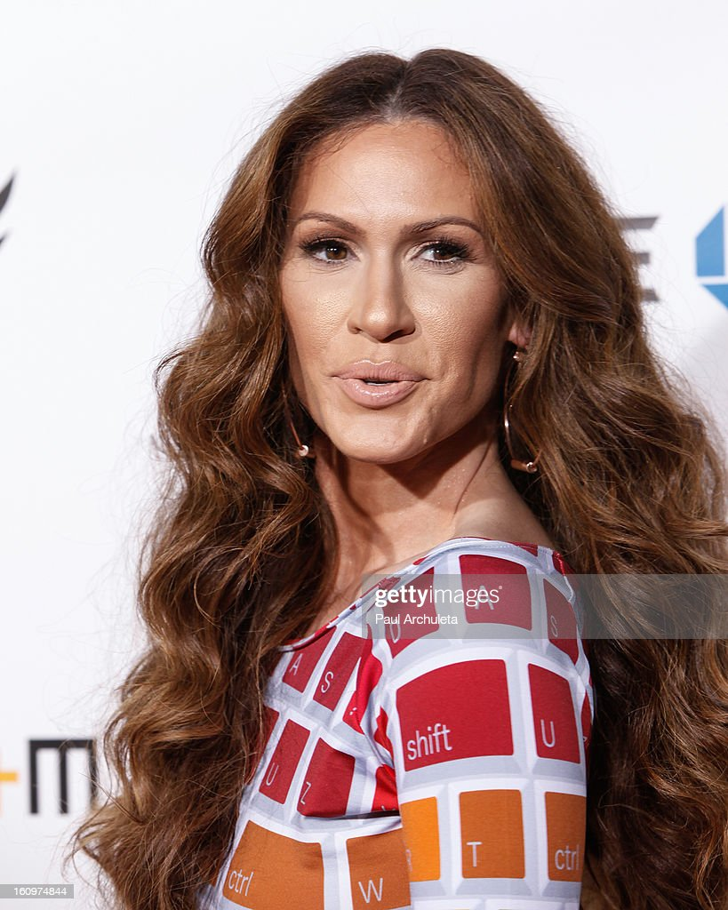 Recording Artist Kimberly Cole attends the 2nd Annual Will.i.am TRANS4M Boyle Heights benefit concert at Avalon on February 7, 2013 in Hollywood, California.