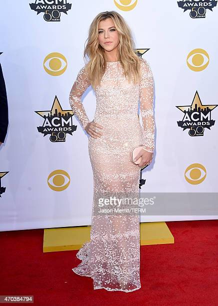 Recording artist Kimberly Perry of The Band Perry attends the 50th Academy of Country Music Awards at ATT Stadium on April 19 2015 in Arlington Texas