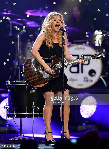 Recording artist Kimberly Perry of The Band Perry performs onstage during Muhammad Ali's Celebrity Fight Night XX held at the JW Marriott Desert...