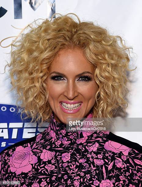 Recording artist Kimberly Schlapman of music group Little Big Town attends the ACM Lifting Lives Gala at the Omni Hotel on April 17 2015 in Dallas...