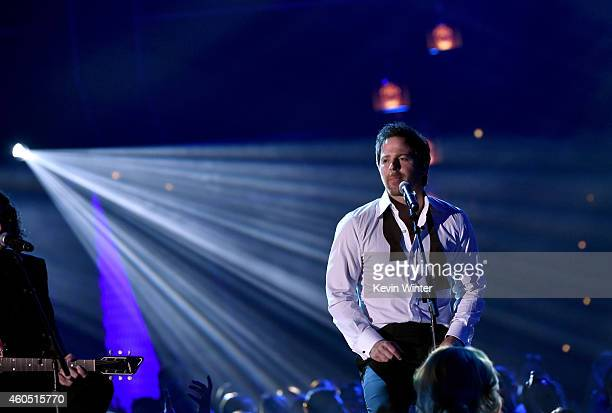 Recording artist Kip Moore performs onstage during the 2014 American Country Countdown Awards at Music City Center on December 15 2014 in Nashville...