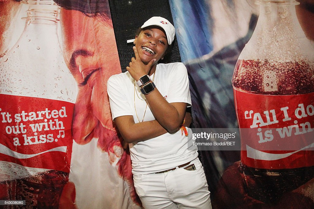 Recording artist Kodie Shane attends the Coke music studio during the 2016 BET Experience on June 25, 2016 in Los Angeles, California.