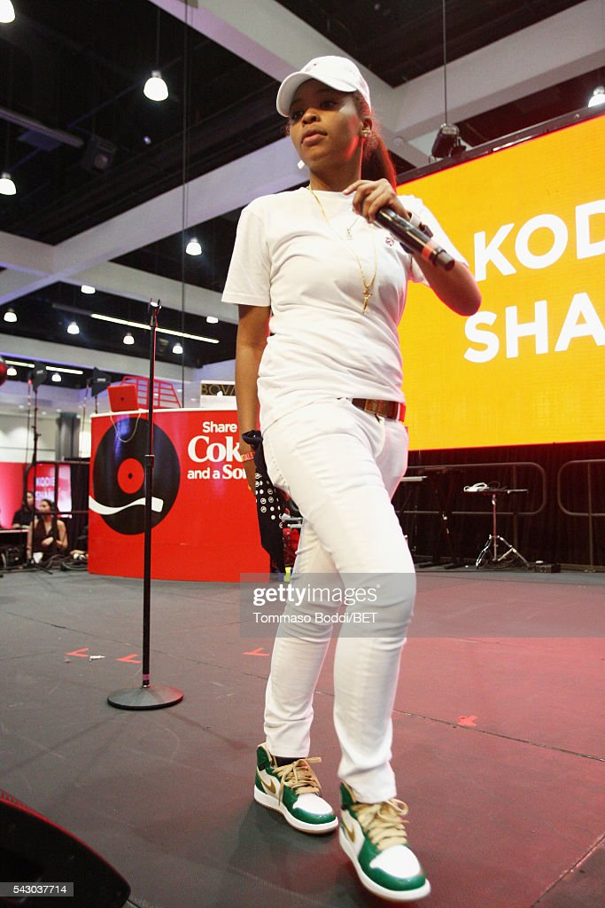 Recording artist Kodie Shane performs onstage at the Coke music studio during the 2016 BET Experience on June 25, 2016 in Los Angeles, California.