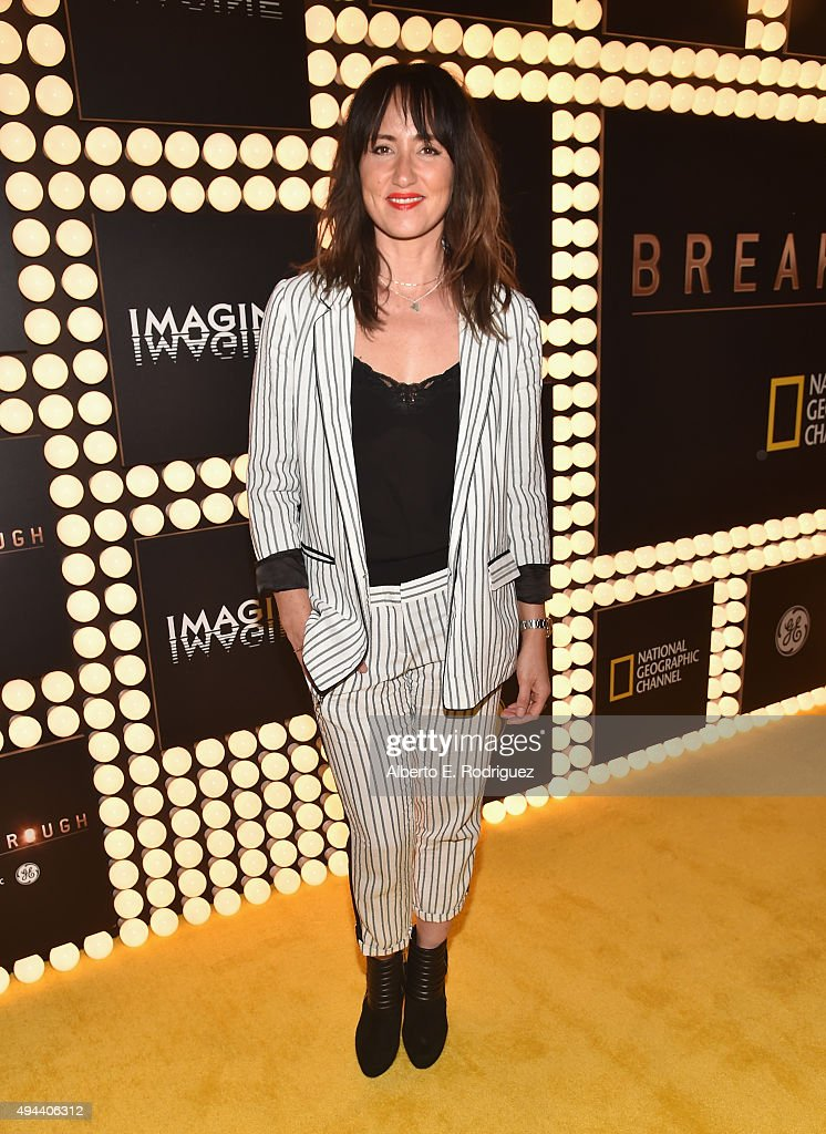 Recording artist <a gi-track='captionPersonalityLinkClicked' href=/galleries/search?phrase=KT+Tunstall&family=editorial&specificpeople=216375 ng-click='$event.stopPropagation()'>KT Tunstall</a> attends National Geographic Channel's 'Breakthrough' world premiere event at The Pacific Design Center on October 26, 2015 in West Hollywood, California.