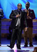 Recording artist Kurt Carr performs onstage during the BET Celebration of Gospel 2013 at Orpheum Theatre on March 16 2013 in Los Angeles California