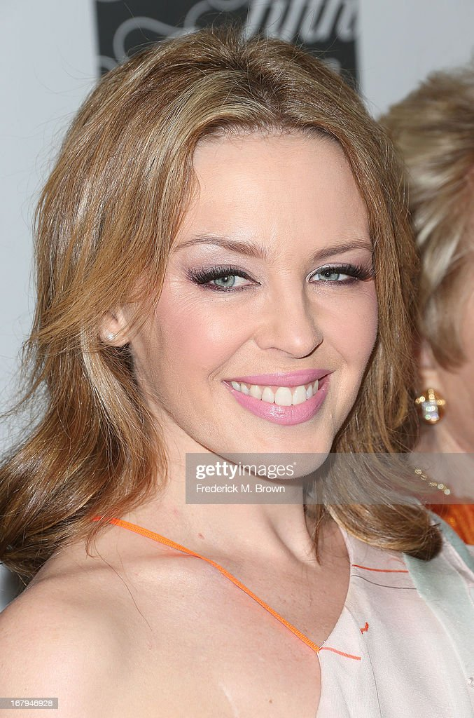 Recording artist <a gi-track='captionPersonalityLinkClicked' href=/galleries/search?phrase=Kylie+Minogue&family=editorial&specificpeople=201671 ng-click='$event.stopPropagation()'>Kylie Minogue</a> attends the EIF Women's Cancer Research Fund's 16th Annual 'An Unforgettable Evening' presented by Saks Fifth Avenue at the Beverly Wilshire Four Seasons Hotel on May 2, 2013 in Beverly Hills, California.