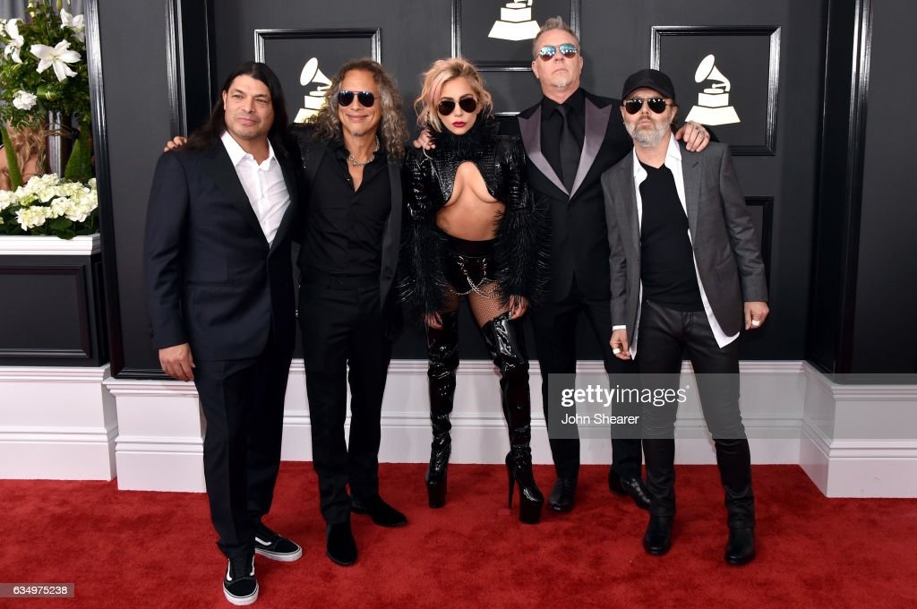 recording-artist-lady-gaga-and-recording-artists-robert-trujillo-kirk-picture-id634975238