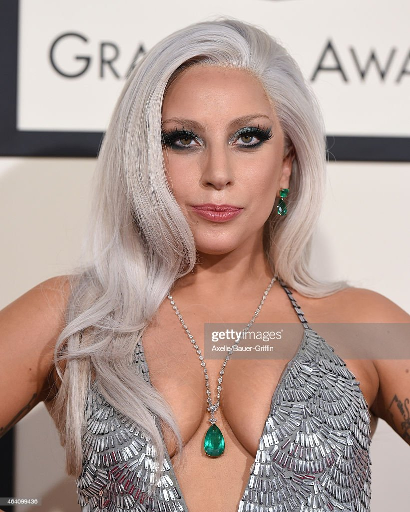 Recording artist Lady Gaga arrives at the 57th Annual GRAMMY Awards at Staples Center on February 8, 2015 in Los Angeles, California.