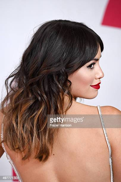 Recording artist Lali Esposito attends the 2015 Latin GRAMMY Person of the Year honoring Roberto Carlos at the Mandalay Bay Events Center on November...