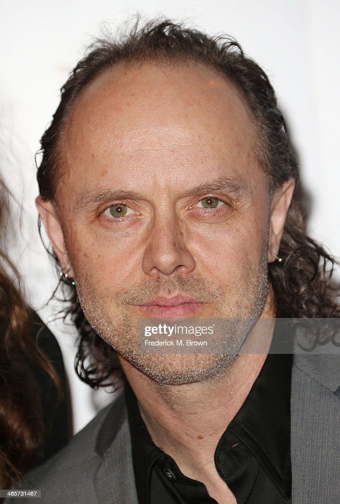 Recording artist Lars Ulrich attends the 2014 International 3D and Advanced Imaging Society's Creative Arts Awards at the Steven J. Ross Theatre, Warner Bros. Studios on January 28, 2014 in Burbank, California.