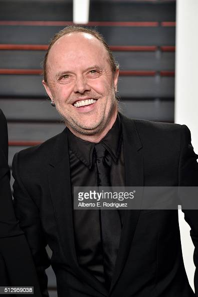 Recording artist Lars Ulrich of music group Metallica attends the 2016 Vanity Fair Oscar Party hosted By Graydon Carter at Wallis Annenberg Center...