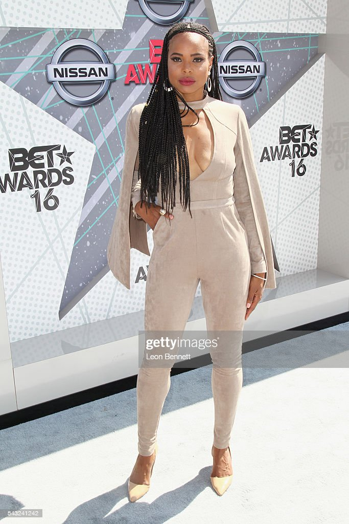 Recording artist LaTina Webb attends the Make A Wish VIP Experience at the 2016 BET Awards on June 26, 2016 in Los Angeles, California.
