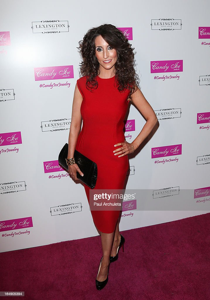 Recording Artist Laura Bryna attends the Fire & Ice Gala Benefiting Fresh2o at the Lexington Social House on March 28, 2013 in Hollywood, California.