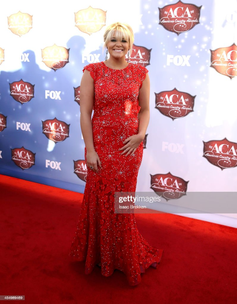 Recording artist Lauren Alaina arrives at the American Country Awards 2013 at the Mandalay Bay Events Center on December 10, 2013 in Las Vegas, Nevada.