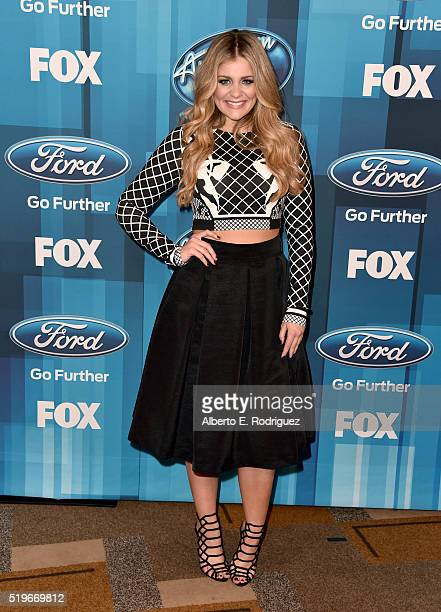 Recording artist Lauren Alaina attends FOX's 'American Idol' Finale For The Farewell Season at Dolby Theatre on April 7 2016 in Hollywood California