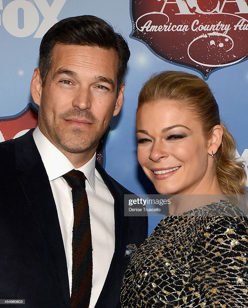 Recording artist LeAnn Rimes and actor Eddie Cibrian arrive at the American Country Awards 2013 at the Mandalay Bay Events Center on December 10 2013...