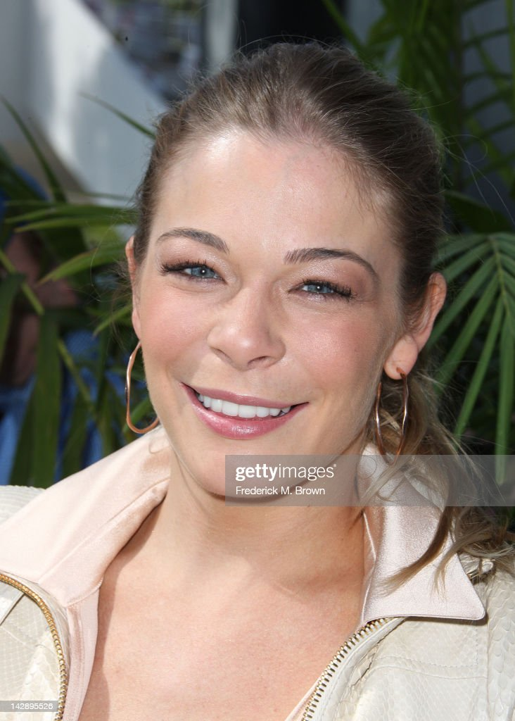 Recording artist LeAnn Rimes attends the 36th Annual Toyota Pro/Celebrity Race at the Long Beach Grand Prix on April 14, 2012 in Long Beach, California.