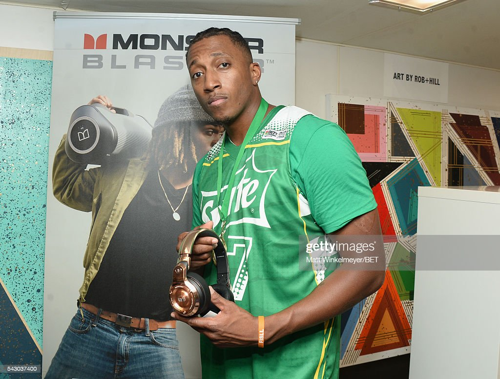 Recording artist <a gi-track='captionPersonalityLinkClicked' href=/galleries/search?phrase=Lecrae&family=editorial&specificpeople=7483341 ng-click='$event.stopPropagation()'>Lecrae</a> attends the BETX gifting suite during the 2016 BET Experience on June 25, 2016 in Los Angeles, California.